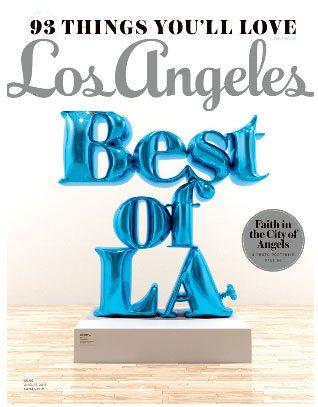Los Angeles Best of La Magazine Cover